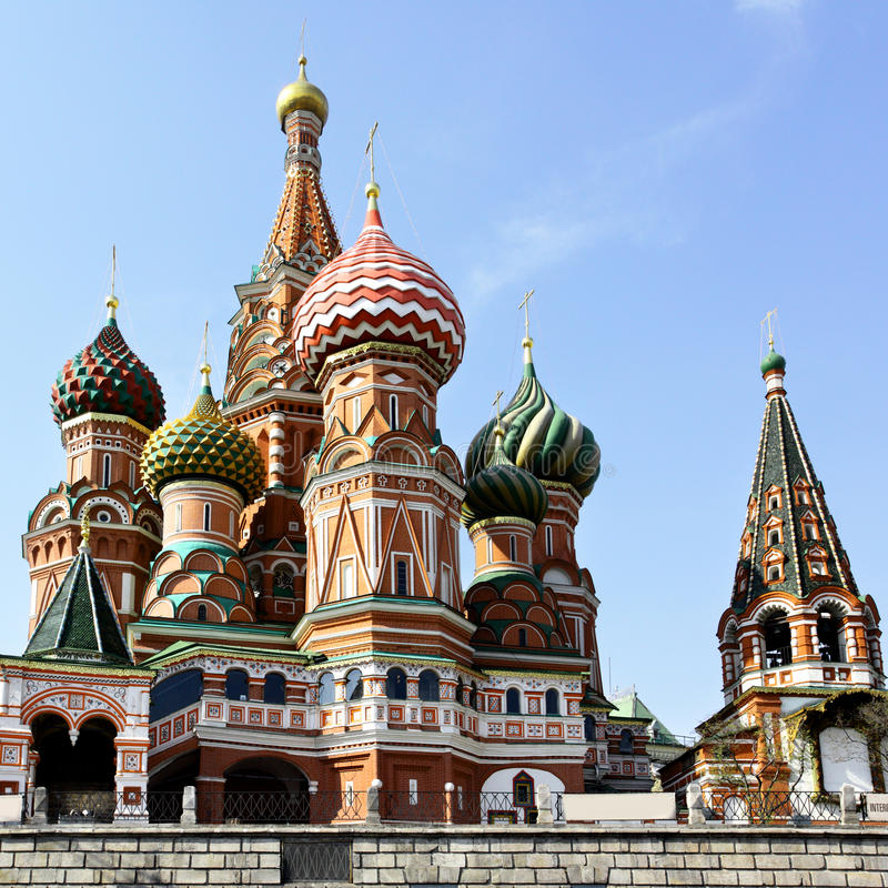Download Cathedral Of St. Basil's The Blessed Stock Image - Image: 13088227