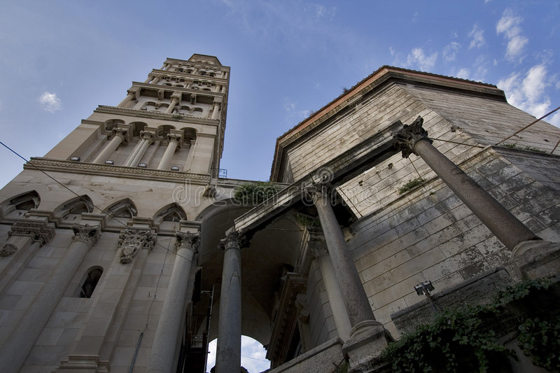 Cathedral St Domnius, Split royalty free stock images