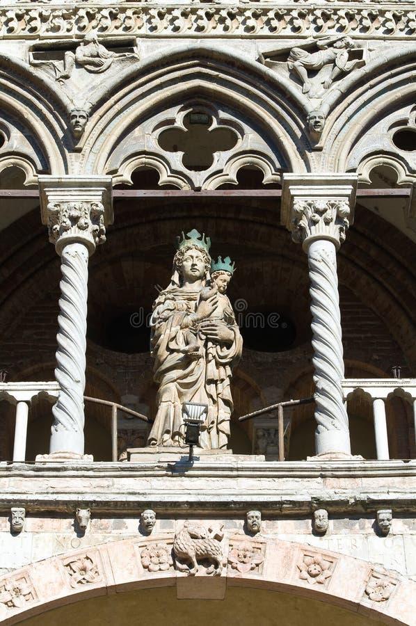 Download Cathedral Of St. George. Ferrara. Emilia-Romagna. Stock Image - Image of emilia, macro: 24819367