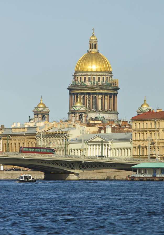 Cathedral of St. Isaac, Saint Petersburg royalty free stock image