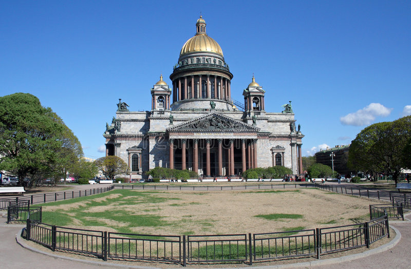 Cathedral of St Isaak in St Petersburg