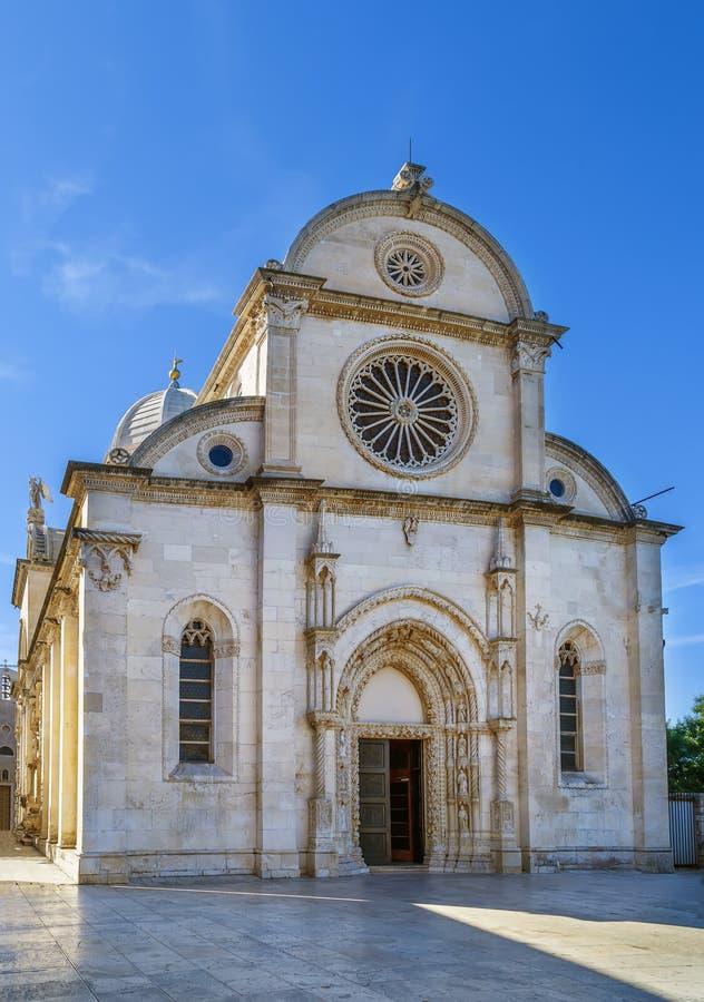 Sibenik Cathedral, Croatia stock photo