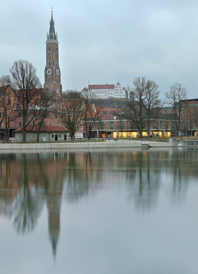 Cathedral St. Martin, Landshut, Germany stock photo