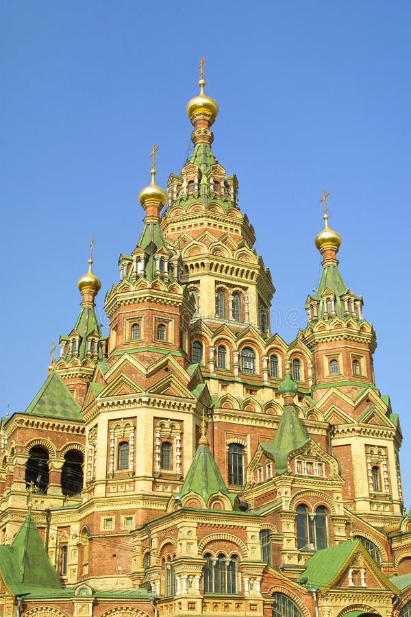 Download Cathedral Of St. Peter And Paul In Peterhof Stock Photo - Image: 11211078
