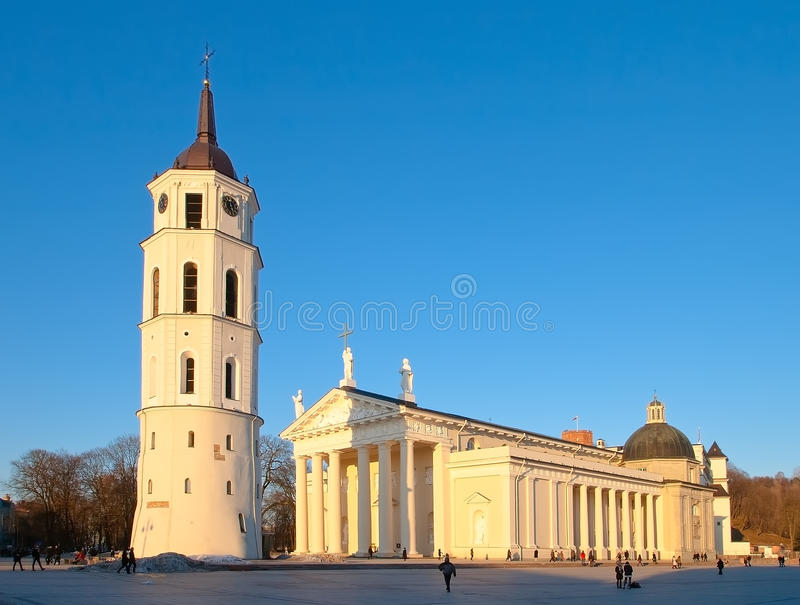Download Cathedral Of St. Stanislaus In Vilnius Stock Image - Image: 28795805