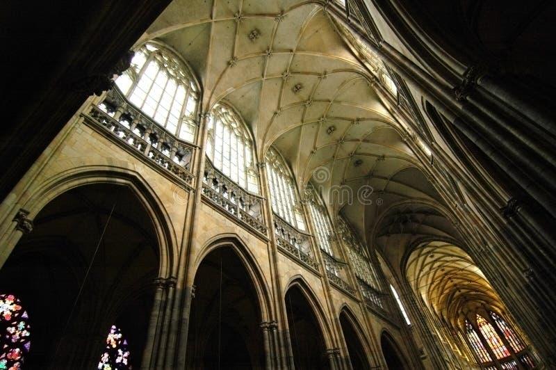 cathedral st vitus 库存图片