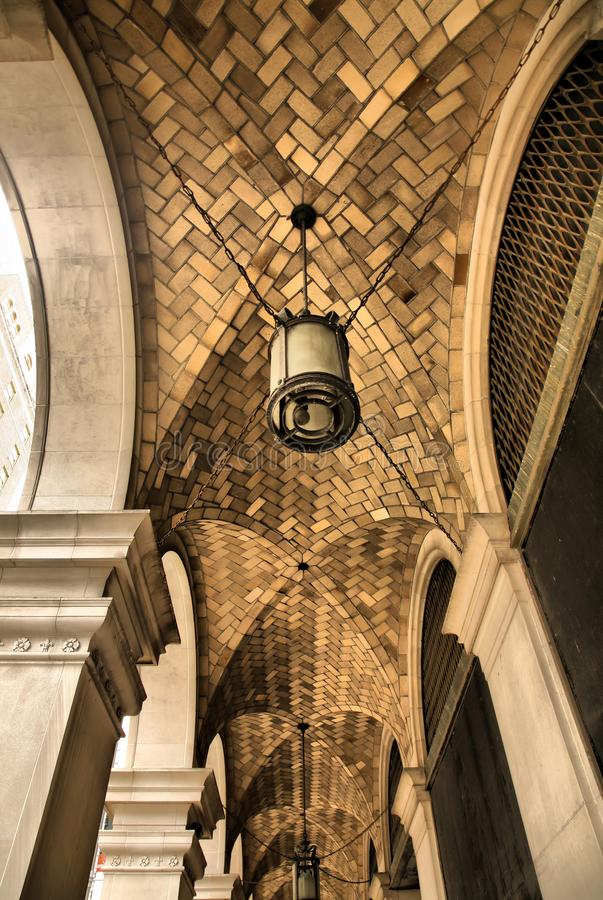 Download Cathedral Stone Brick Arches Stock Photo - Image of arches, vanishing: 8569342