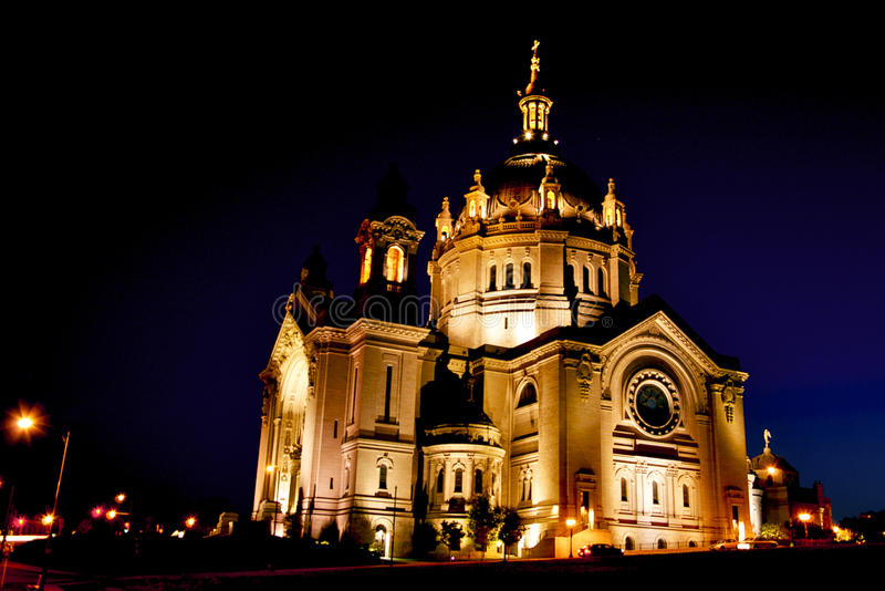 Cathedral at Sunset royalty free stock images