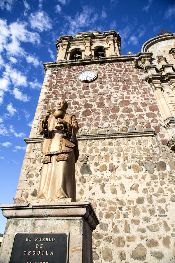 Cathedral of Tequila details royalty free stock photography