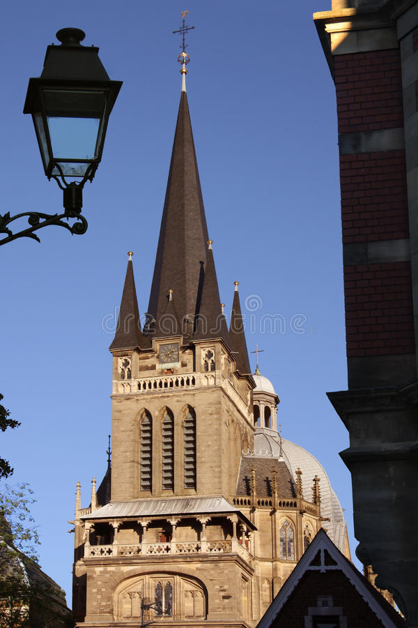 Download Cathedral to Aachen stock image. Image of germany, aachen - 27964845