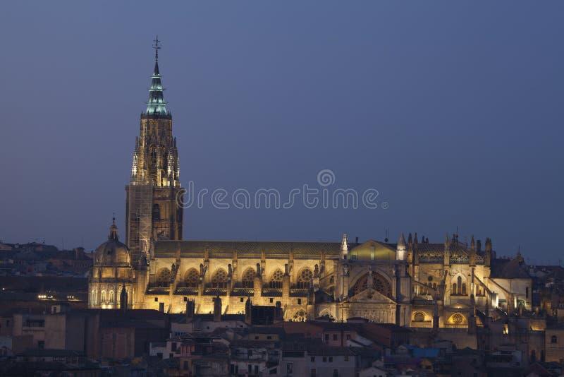 Cathedral of Toledo. Castilla la Mancha, Spain royalty free stock images