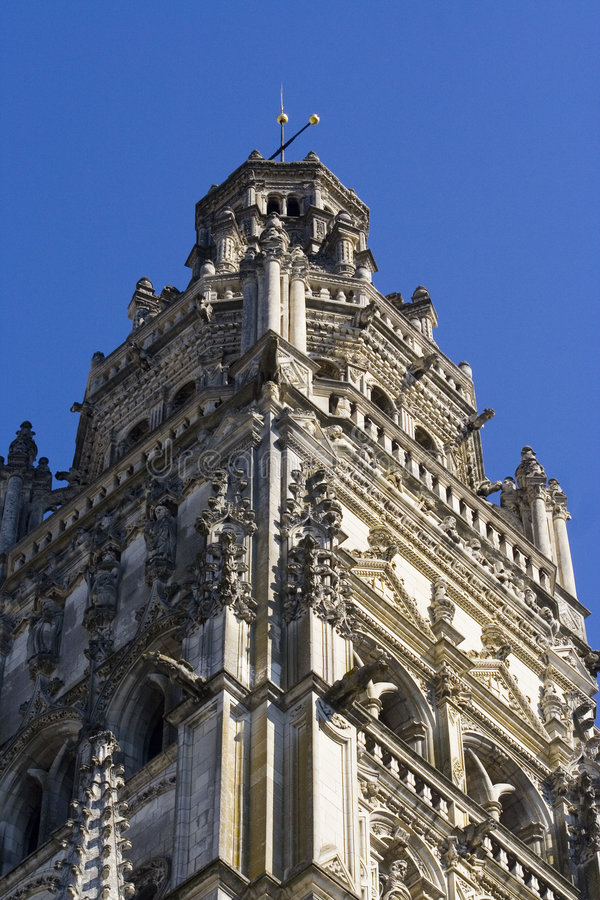 Cathedral Of Tours Royalty Free Stock Images