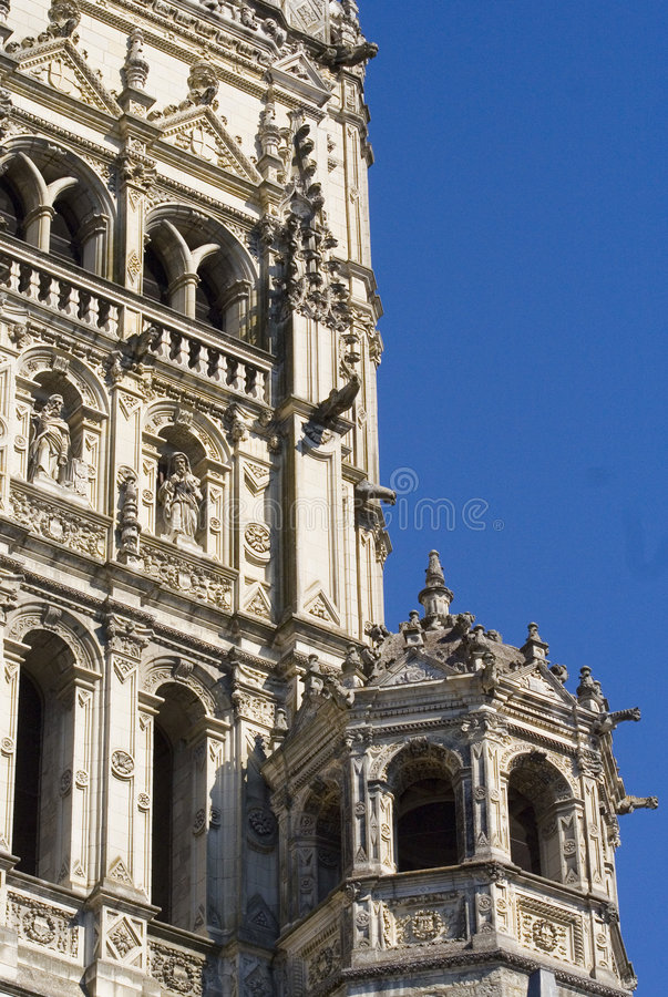 Download Cathedral of Tours stock image. Image of cathedral, city - 607961