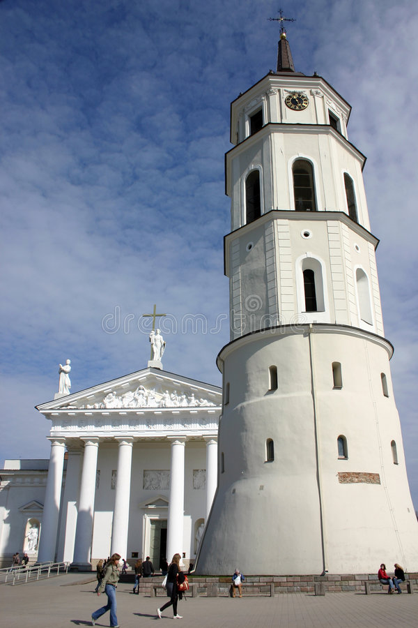 Free Cathedral Tower Royalty Free Stock Photos - 2269278
