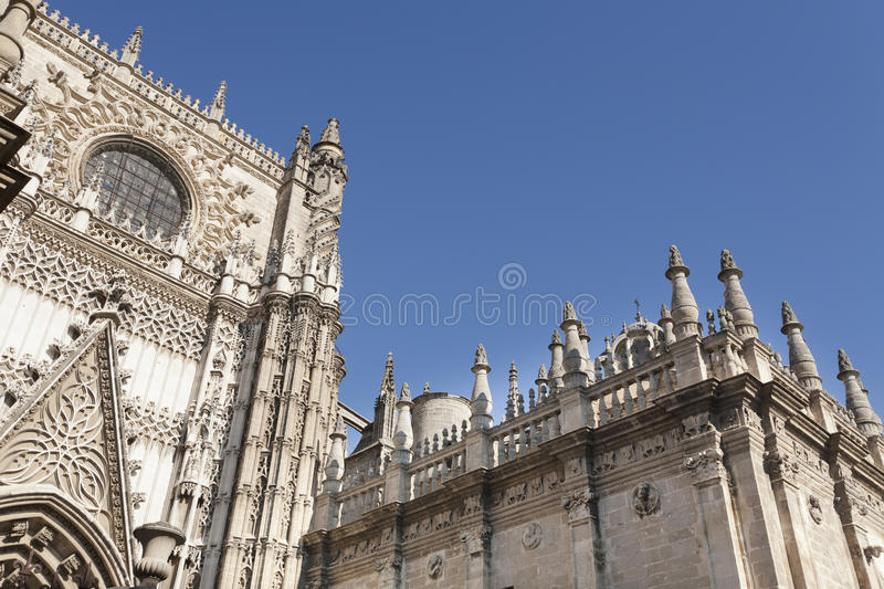 Cathedral tower royalty free stock image