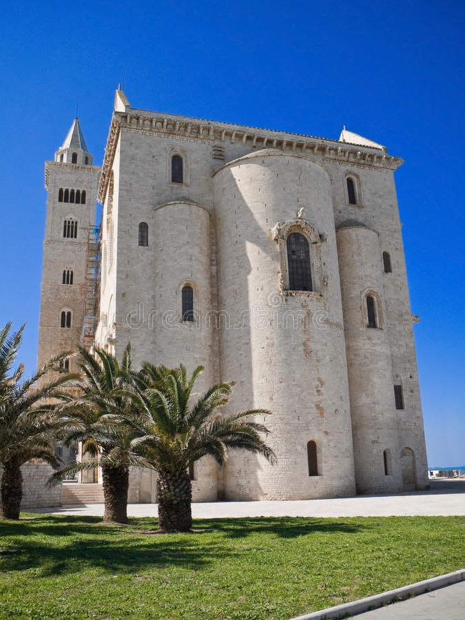 The Cathedral of Trani. Apulia. royalty free stock photos