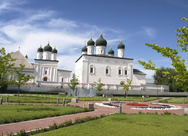 Astrakhan. Russia. Cathedral of the Trinity in Astrakhan royalty free stock photography