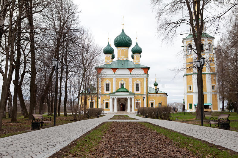Cathedral, Uglich royalty free stock image