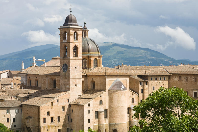Cathedral Of Urbino, Italy Stock Photography