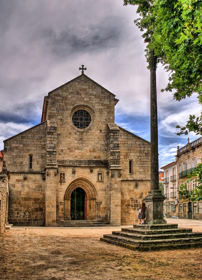 Download Cathedral of Vila Real stock image. Image of building - 84882555