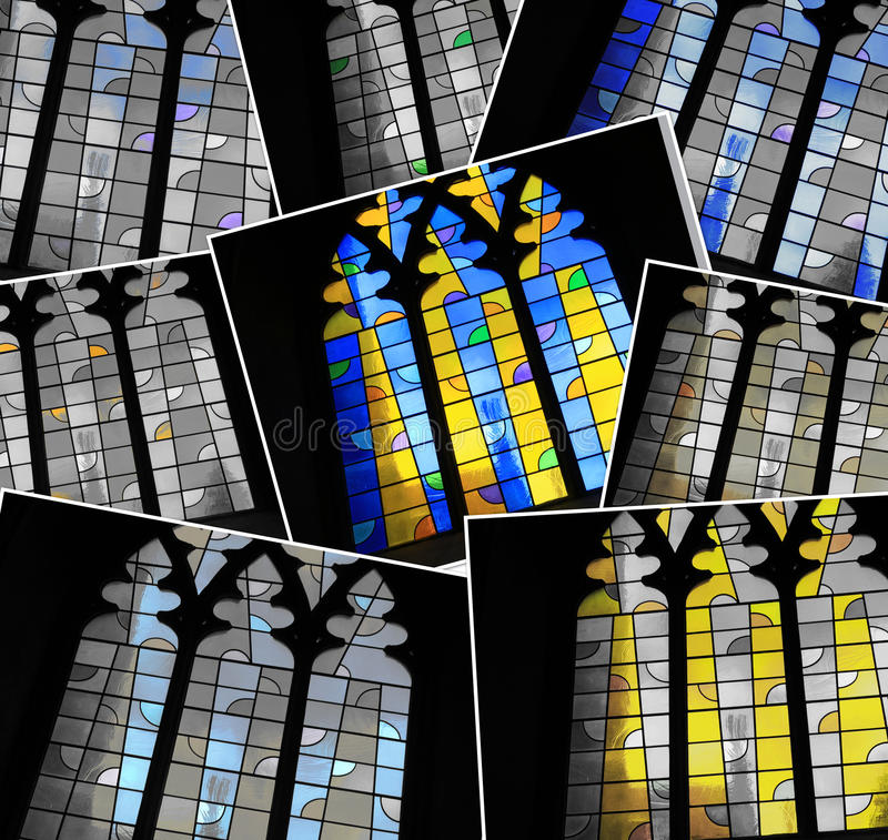 Cathedral Window stock photography