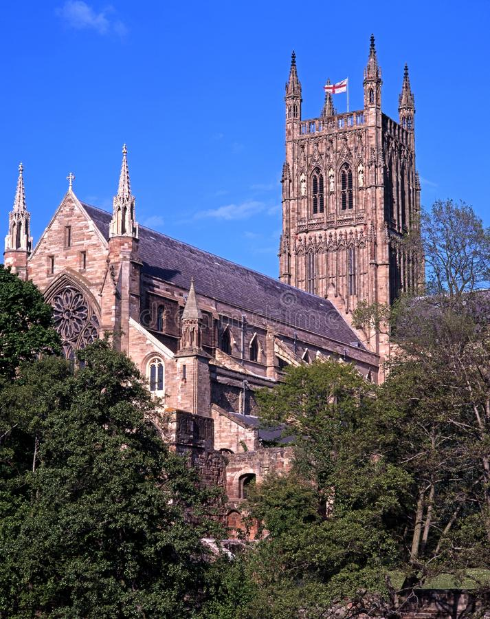 Cathedral, Worcester, England. Royalty Free Stock Image