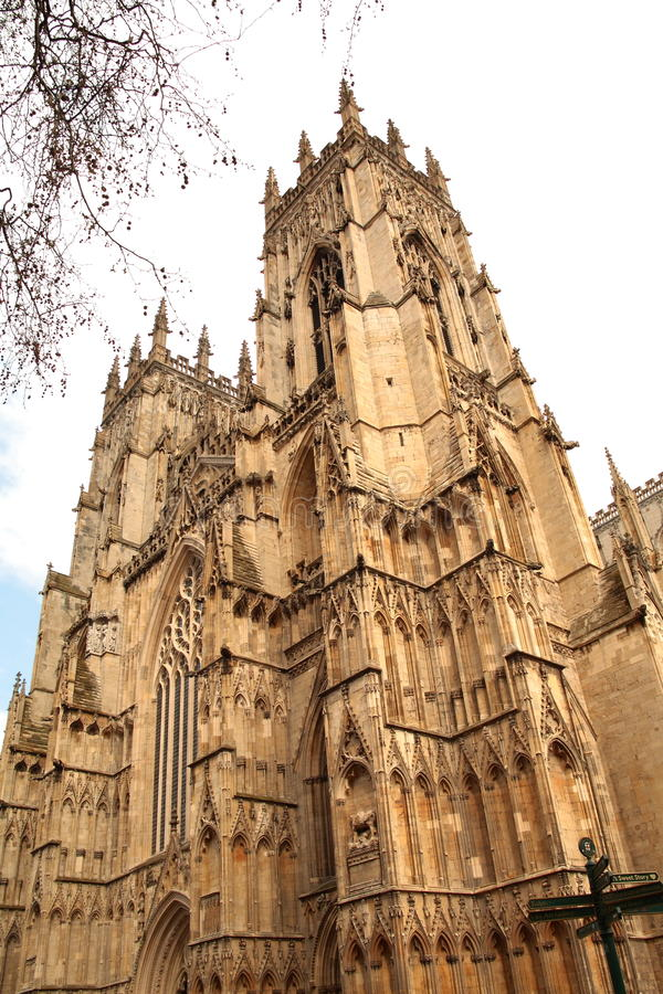 Cathedral in York royalty free stock images