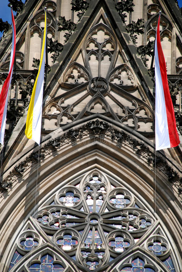 cathedral10科隆香水 免版税库存图片