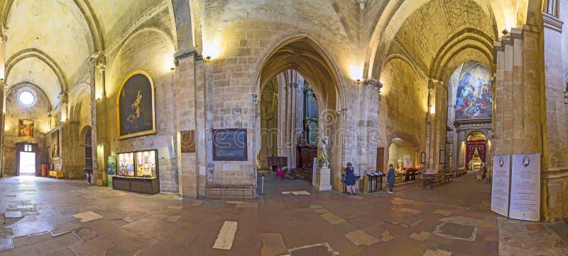Cathedrale Sainte Sauveur à Aix-en-Provence, France photographie stock