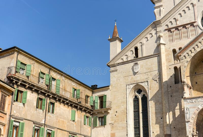 Cathedrals of Verona royalty free stock image