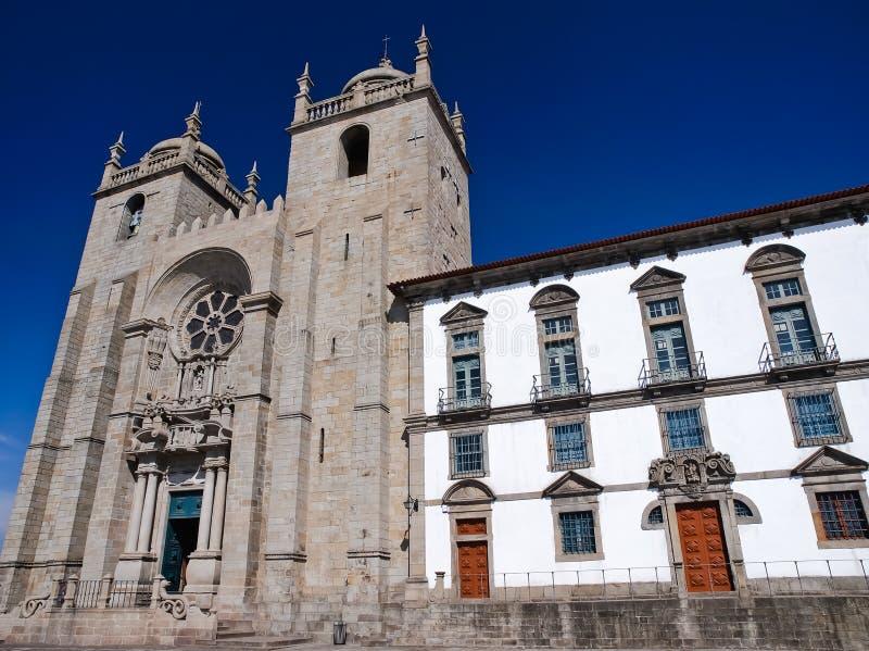catherdral Porto Portugal zdjęcia royalty free