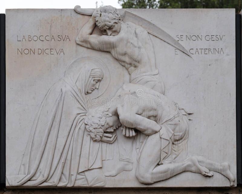 catherine święty Siena obrazy royalty free