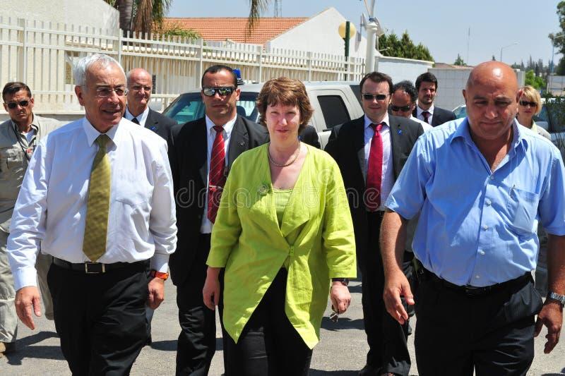 Catherine Ashton zdjęcia stock