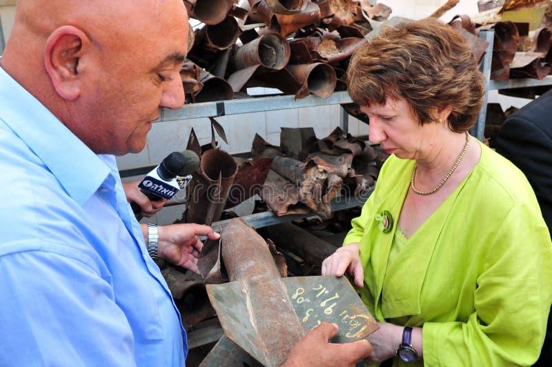 Catherine Ashton royalty-vrije stock afbeelding
