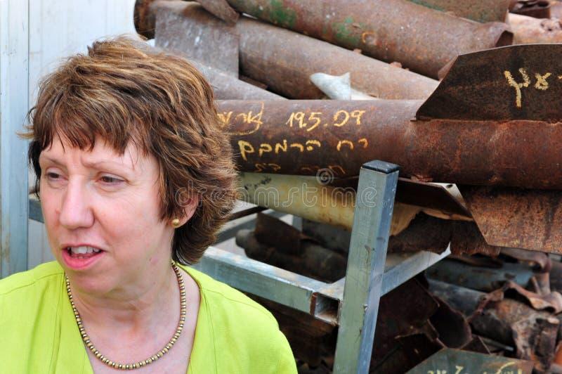 Catherine Ashton zdjęcia royalty free