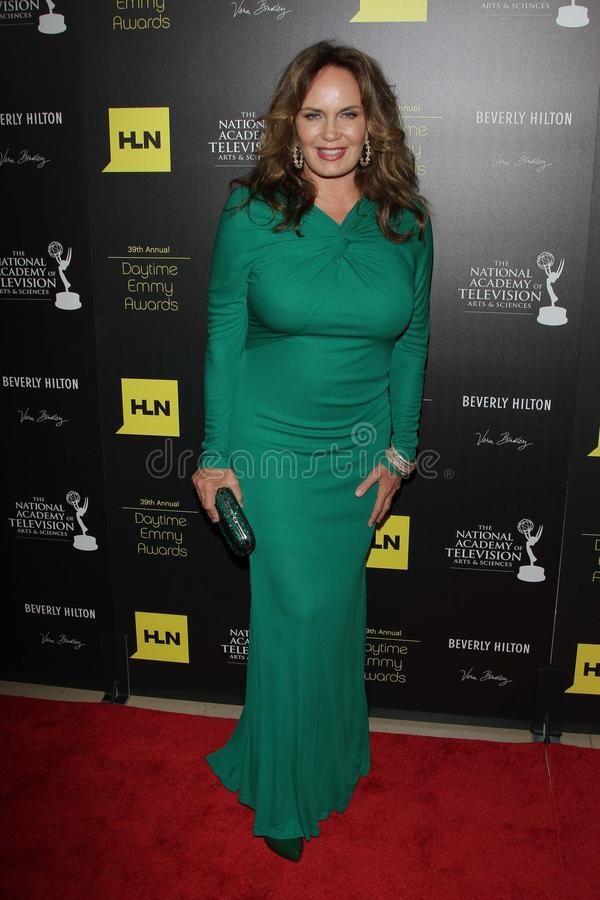 Catherine Bach At The 39th Annual Daytime Emmy Awards, Beverly Hilton, Beverly Hills, CA 06-23-12 Editorial Stock Photo