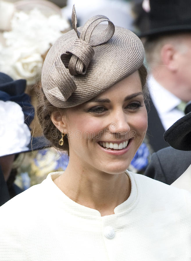 Catherine, Duchess Cambridge obrazy royalty free