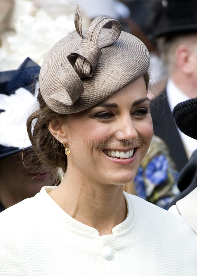 Duquesa de Cambridge foto de archivo