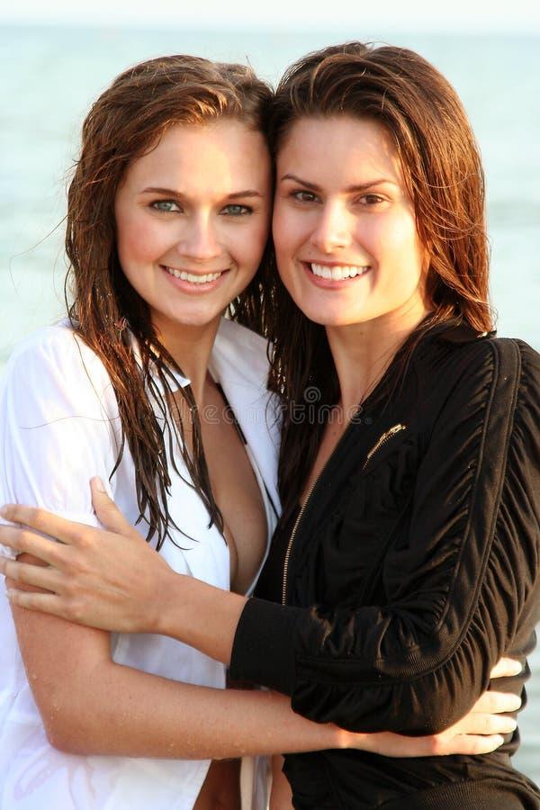 Catherine et Ashley 7 photo libre de droits