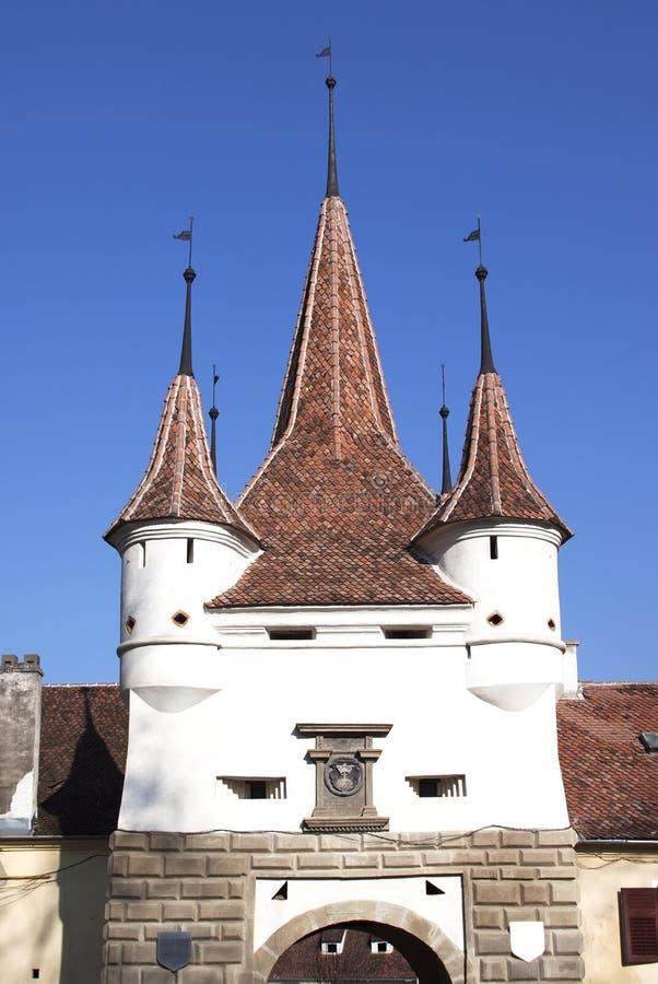 Catherine Gate em Brasov imagem de stock royalty free