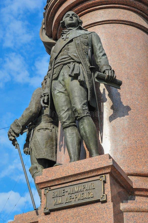 Catherine The Great - Odessa, Ukraine images libres de droits