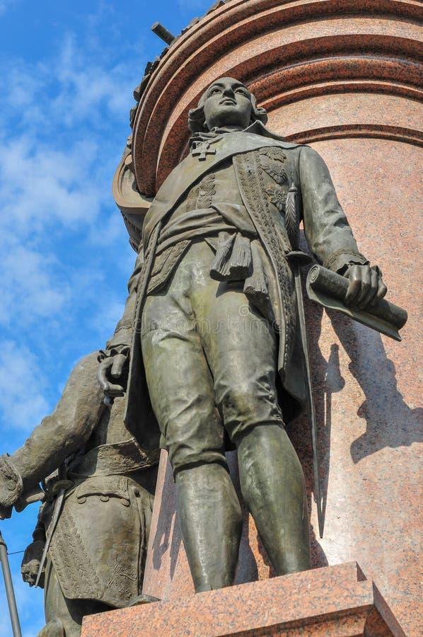 Catherine The Great - Odessa, Ukraine photos stock