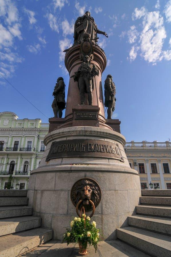 Catherine The Great - Odessa, Ukraine image stock