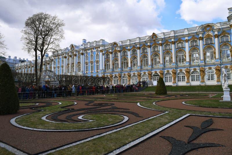 Catherine Great Tsarskoye Selo Palace fotografia de stock royalty free
