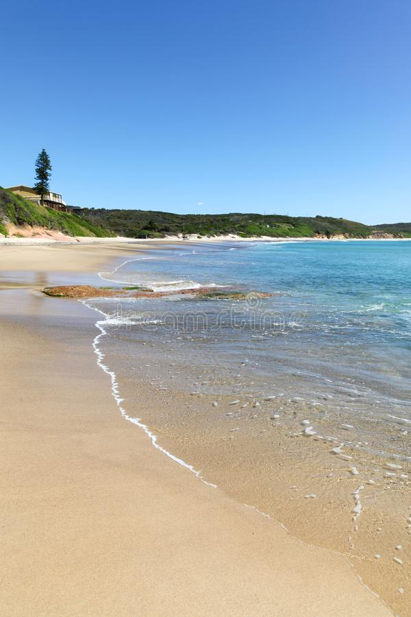 Catherine Hill Bay Beach - NSW Australia. Located on the central coast of New South Wales south of Newcastle is the historic beachside community of Catherine royalty free stock photo
