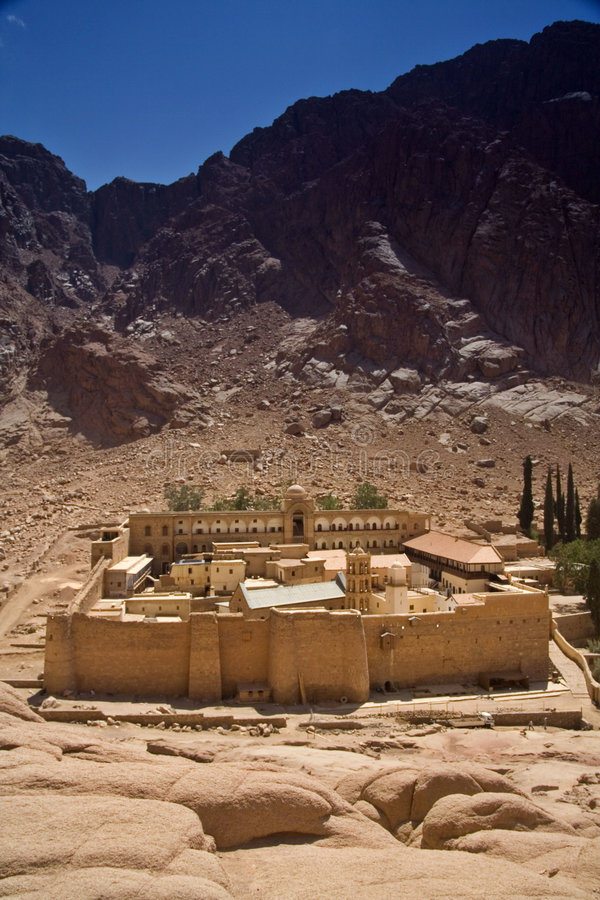 catherine monasteru święty zdjęcie stock