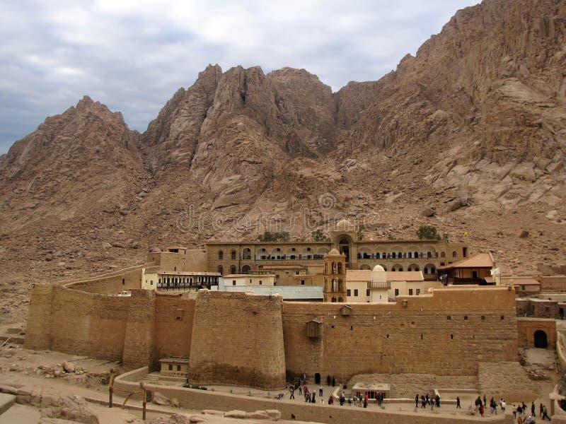 catherine monasteru s święty zdjęcia royalty free