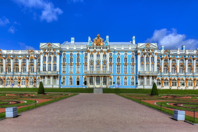 Catherine pałac, Pushkin, święty Petersburg, Rosja fotografia stock