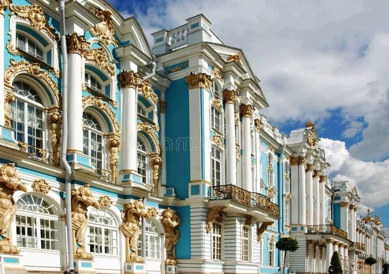 catherine pałacu s Rosji zdjęcie royalty free