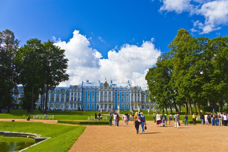 Catherine Palace royalty-vrije stock afbeeldingen